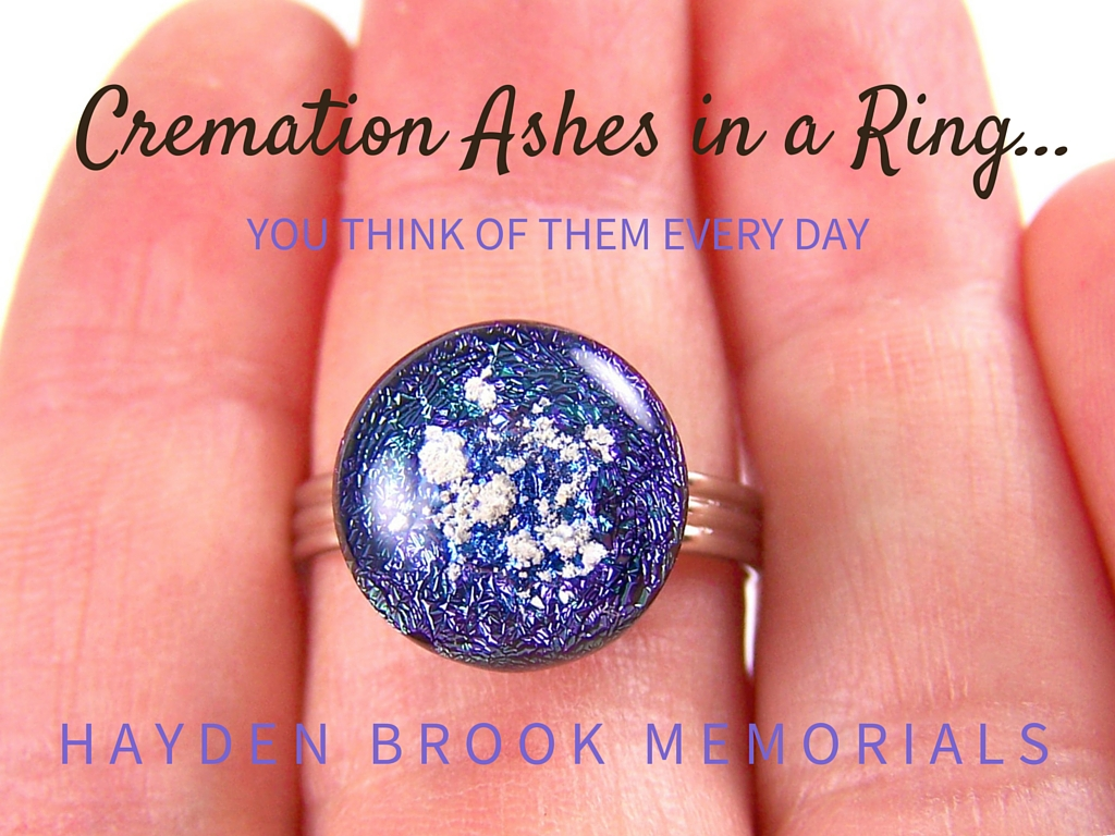 infusion memorials glass rings jewelry ash cremation